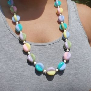 Jewelry - Cotton Candy Beaded Necklace